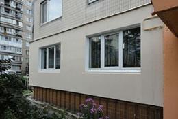 Утепление и отделка фасада пенопластом